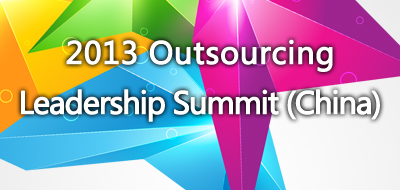 2013 Outsourcing Leadership Summit (China)
